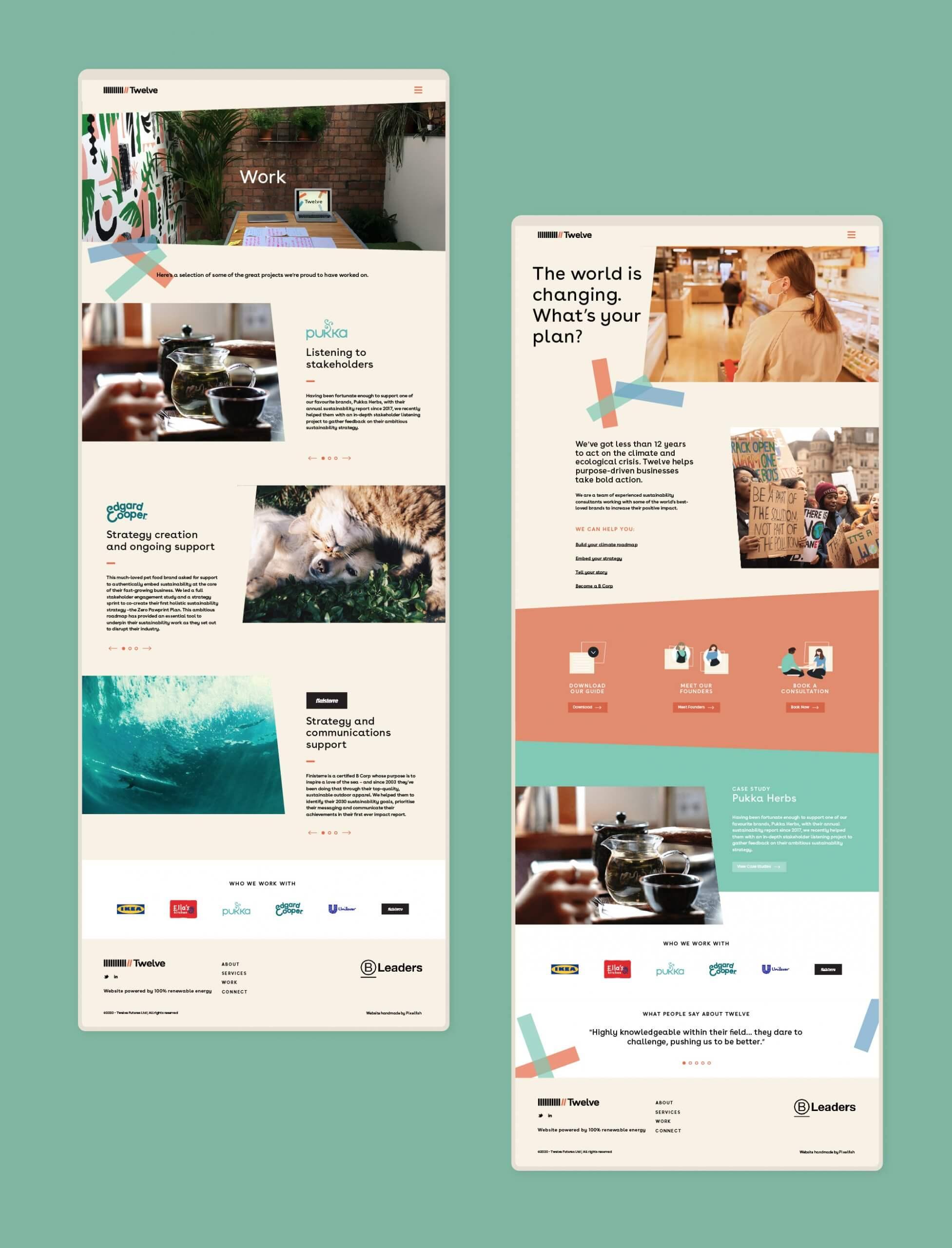 Twelve Website Design
